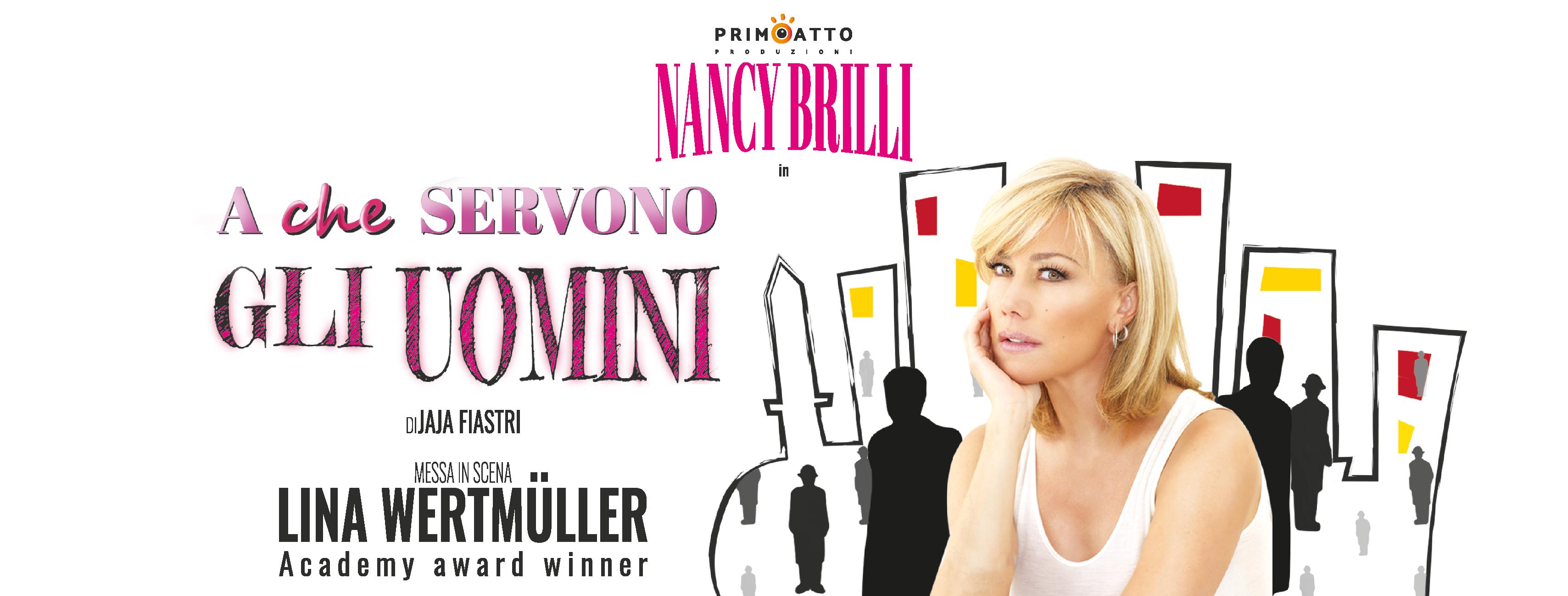 Nancy Brilli debutta ad Agropoli
