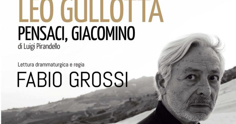 Leo Gullotta per la prima volta al De Filippo